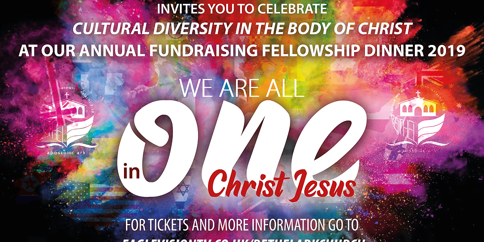 Cultural Diversity in the Body of Christ: Annual Fundraising Fellowship Dinner 2019