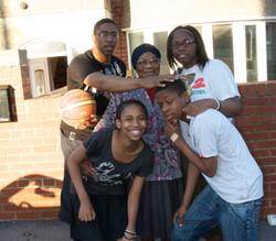 Grandma with her Grandchildren 2009