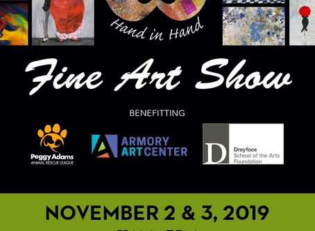 Fine Art Show Called Artists & Charities Hand in Hand