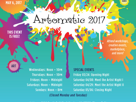 Artomatic 2017 Opening Night