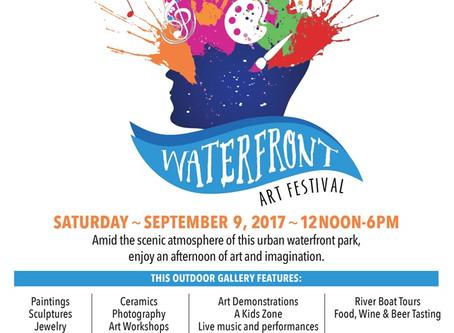 Waterfront Art Festival (9/9/17)