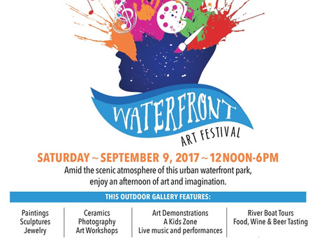 Waterfront Art Festival (9/9/17)