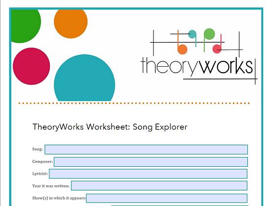 TheoryWorks - Song Explorer