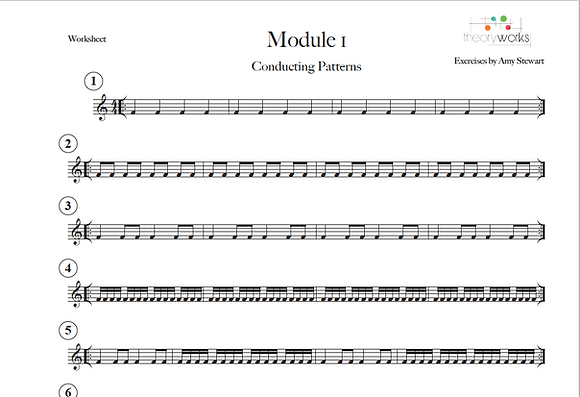 TheoryWorks - Progressive Conducting Patterns