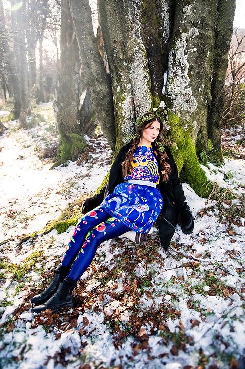 PECKA modrá jelení