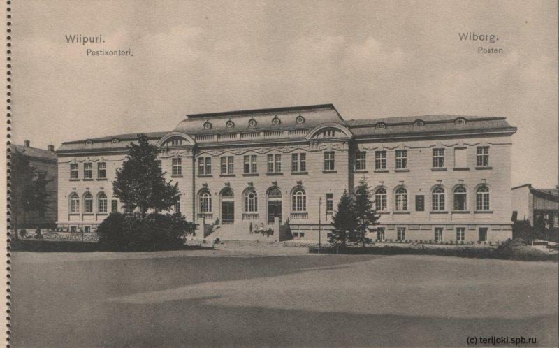 Общий вид здания с юго-востока копия с фото 1914г
