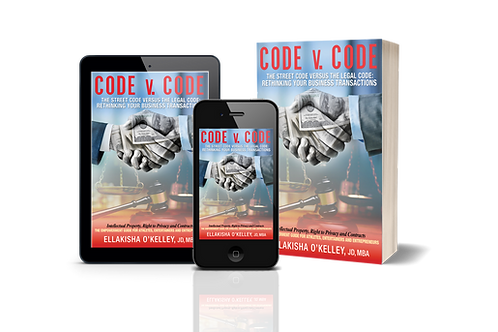 Pre-sale signed copy of Code v. Code the book