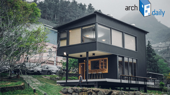 archdaily Building of the Year 2021 |三角鐵茶屋