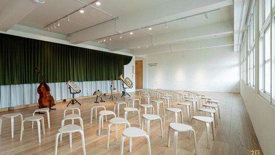 嘉北ARC音樂廳像變型金剛,地板開展組合變舞台|台灣時報報導