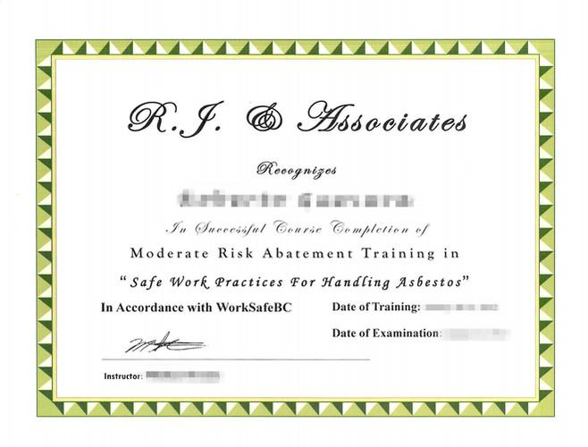 Moderate Risk Abatement Training