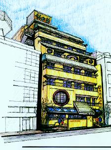 別府竹の井ホテル 一穂・環境デザインオフィス