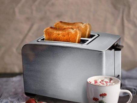 奶油+吐司+咖啡,早餐愛用的烤麵包機