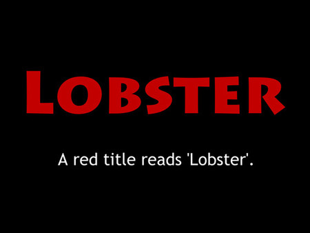 Alison Myers - 'Lobster' Director Q&A