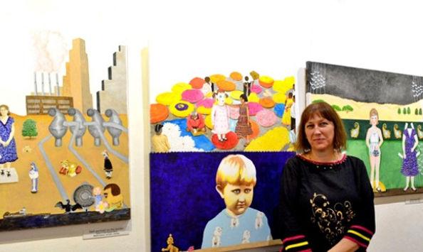Barbara Ash at the Melting Pot launch.