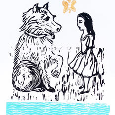Alice meets the puppy, 2021