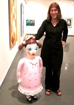 With frilly doll, Gallery Sumukha.jpg