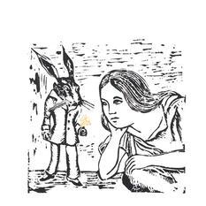 Alice meets the White Rabbit, 2021