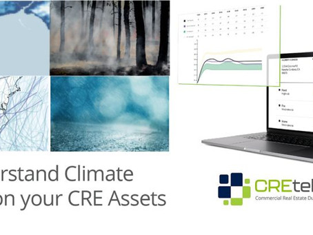 CREtelligent Adds ClimateCheck to our suite of desktop CRE due diligence reports!