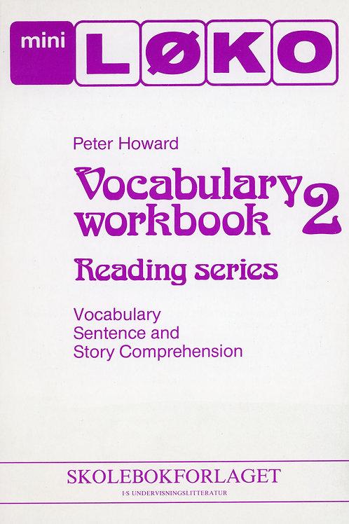 Voc. Workbook 2  (2 - 4 Trinn)