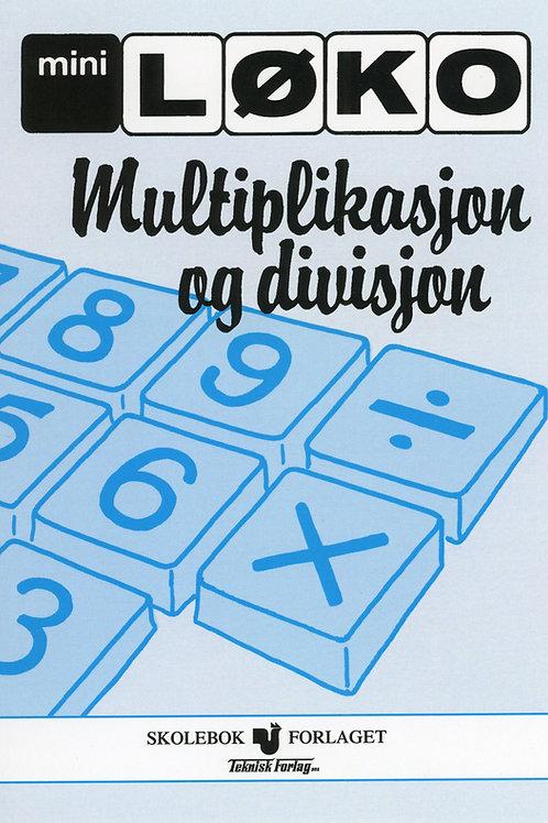 Multiplikasjon/Divisjon (3 - 5 Trinn)