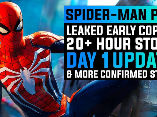 20 review codes left for Spider-Man for PS4!
