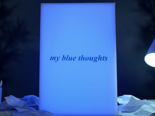 My Blue Thoughts - 1 Million in 5 days! #SuperHero