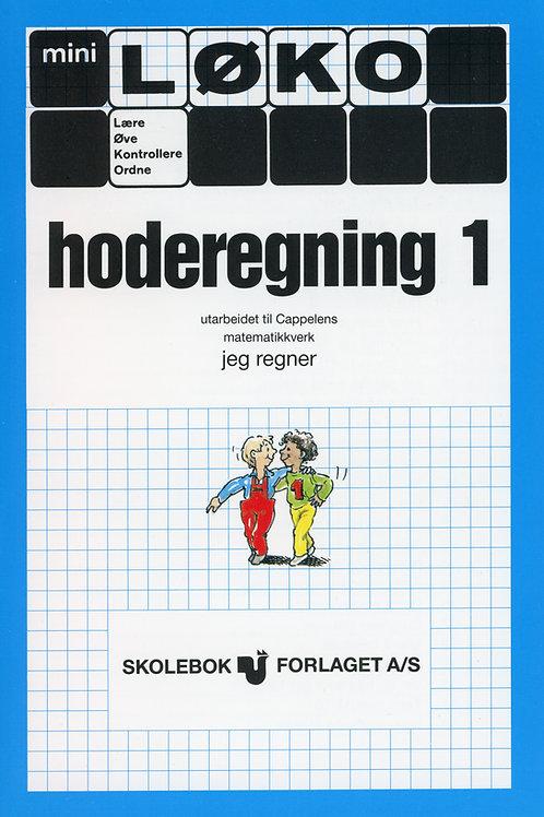 Hoderegning 1 (2 - 5 Trinn)