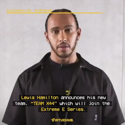 Lewis Hamilton & TEAM X44 join the Extreme E Series.