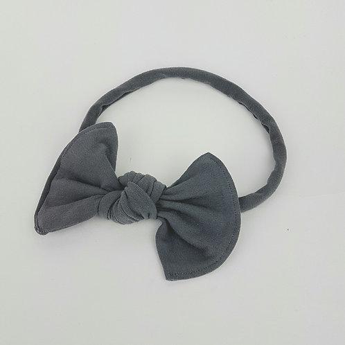 Junior Bows - Charcoal