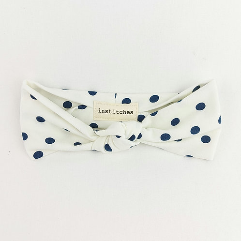 Knotted - Navy Spots