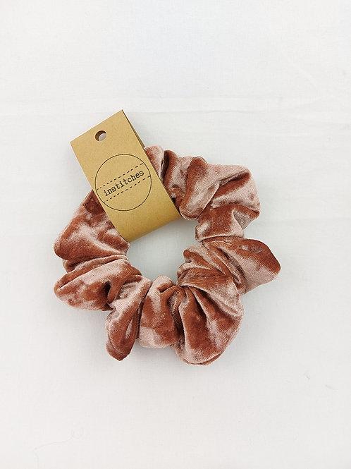 Scrunchies - Blush Velvet