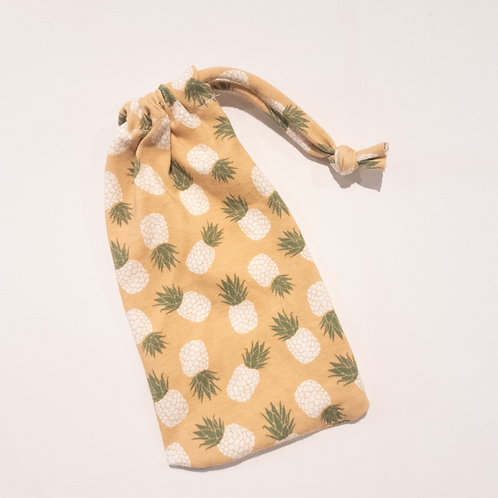 Wristlet Bag - Pineapples