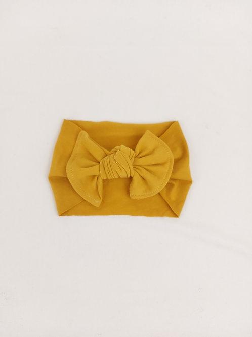 Baby Bows - Mustard