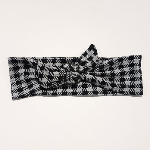 Tied-Up - Grey Plaid