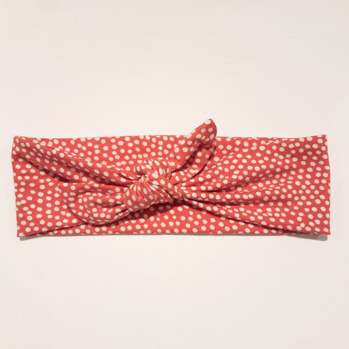 Tied-Up - Red Polka