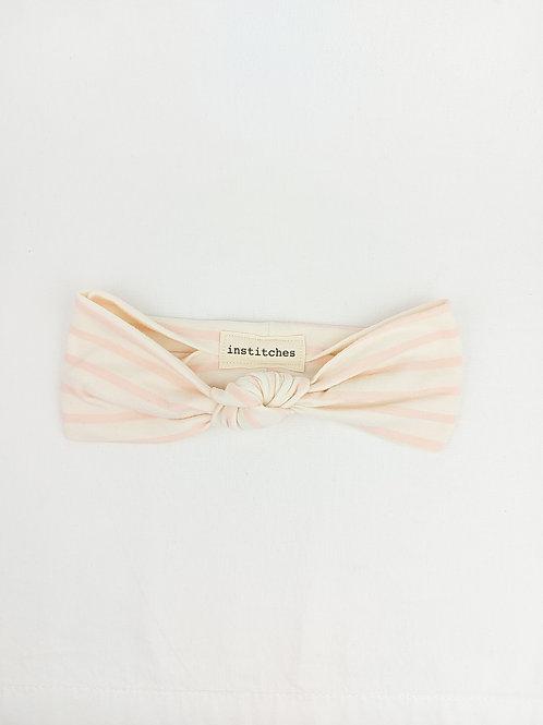 Junior Knotted - Blush Stripe