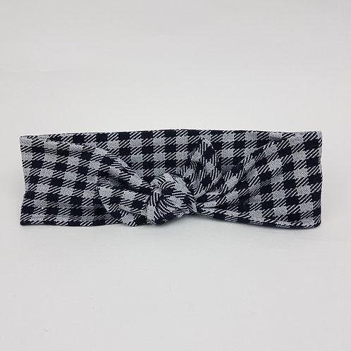 Tied-Up - Grey Plaid