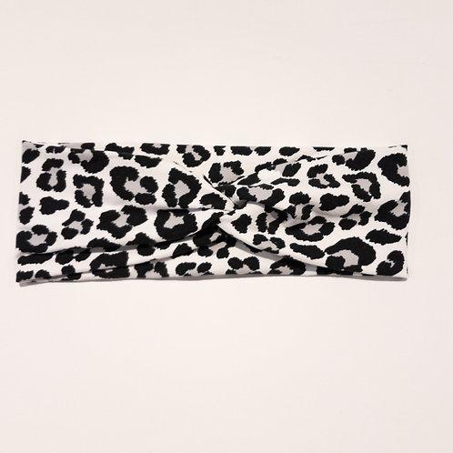 Turban-Style - Grey Leopard