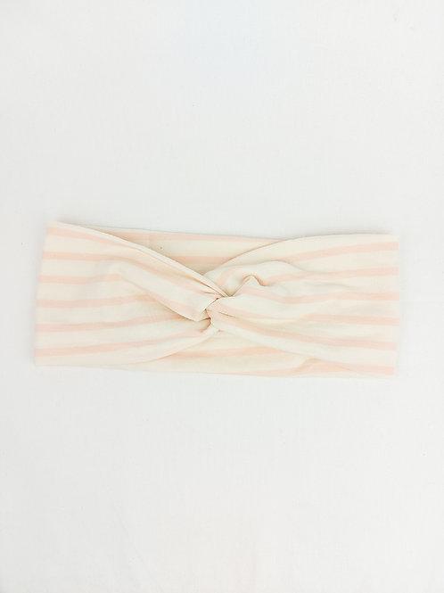 Turban-Style - Blush Stripe