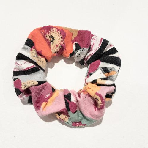 Scrunchies - Stripe Floral