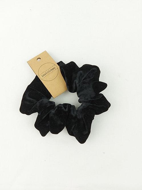 Scrunchies - Black Velvet