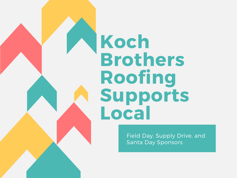 Koch Brothers Roofing Supports Local Non-Profit
