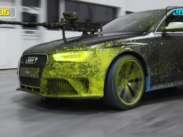 AUDI - PAINTBALL WAR