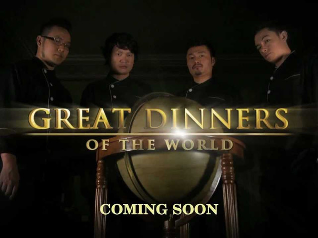 ASIAN FOOD NETWORK - GREAT DINNERS OF THE WORLD