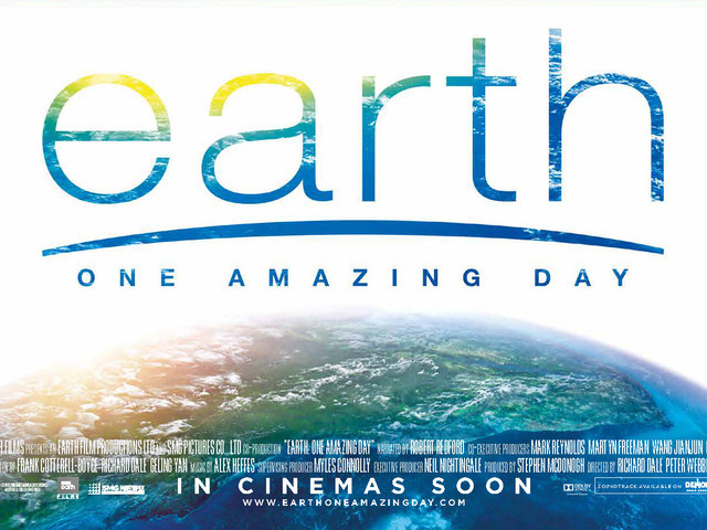 "BBC EARTH - ""EARTH ONE AMAZING DAY"" INTERNATIONAL CINEMA RELEASE"
