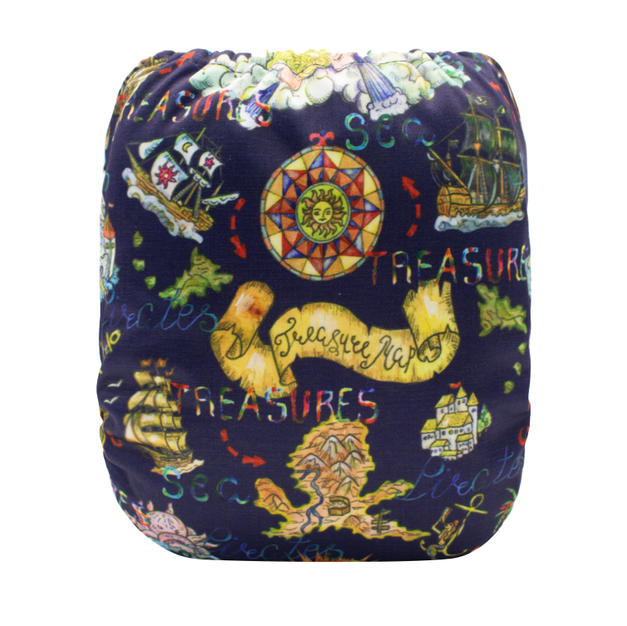 Piratey Toss Seamless Wet Bag