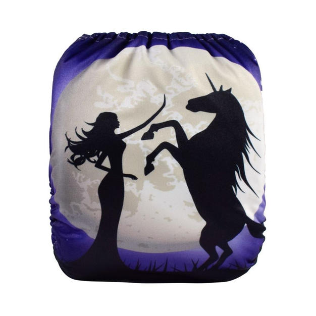 Moonlit Unicorn Positional Wet Bag
