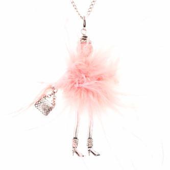 Bambola in Stile Moscovita-Spider-Pink