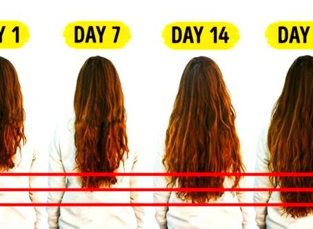 5 REMEDII SIMPLE pentru creșterea SUPER RAPIDĂ a părului