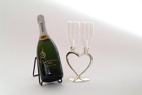 Champagne Bottle / Glasses